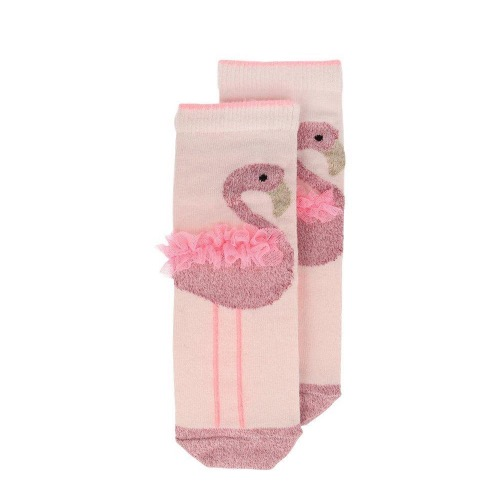 [Meri Meri] Flamingo Sparkle Socks 3-5 years
