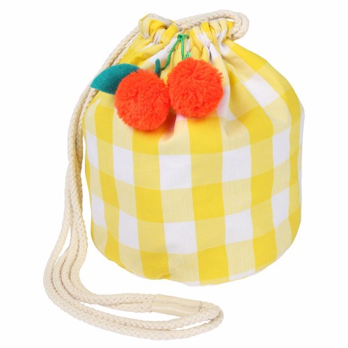 [Meri Meri] Cherry Gingham Bag