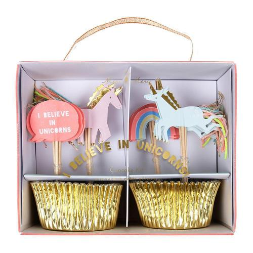 [Meri Meri] Unicorns Cupcake Kit