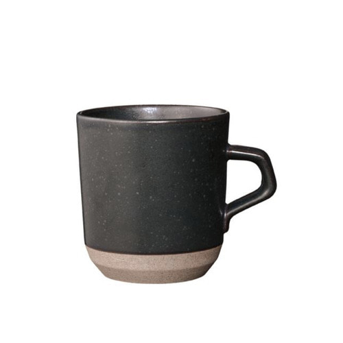 [KINTO] CLK-151 Large mug 410ml - Black