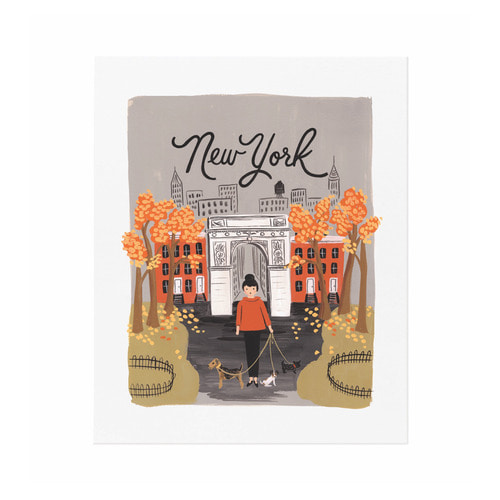 [Rifle Paper Co.] New York Autumn Art Print 2 size