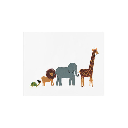 [Rifle Paper Co.] Animal Parade Art Print 2 size