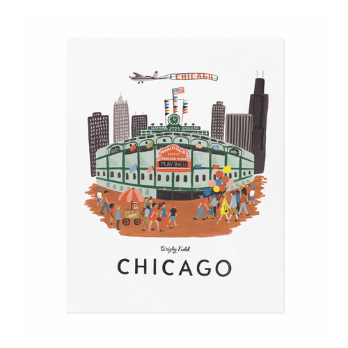 [Rifle Paper Co.] Chicago Art Print 16 x 20