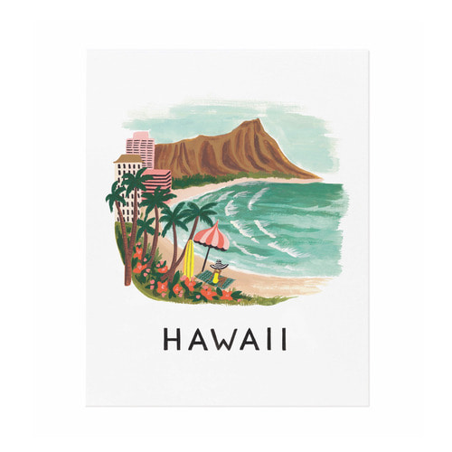 [Rifle Paper Co.] Hawaii Art Print 2 size