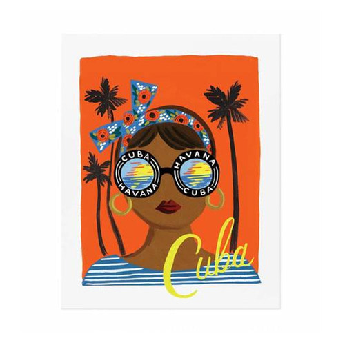 [Rifle Paper Co.] Bon Voyage Cuba Art Print 3 size