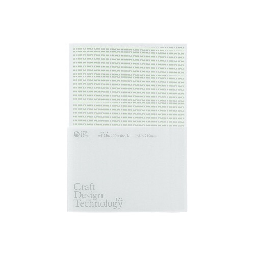 [CDT] A5 Lined Notebook [Pale Green]