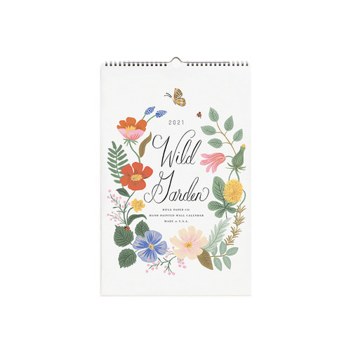 [Rifle Paper Co.] 2021 Wild Garden Wall Calendar