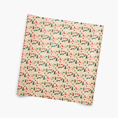 [Rifle Paper Co.] Deck The Halls Continuous Wrapping Roll