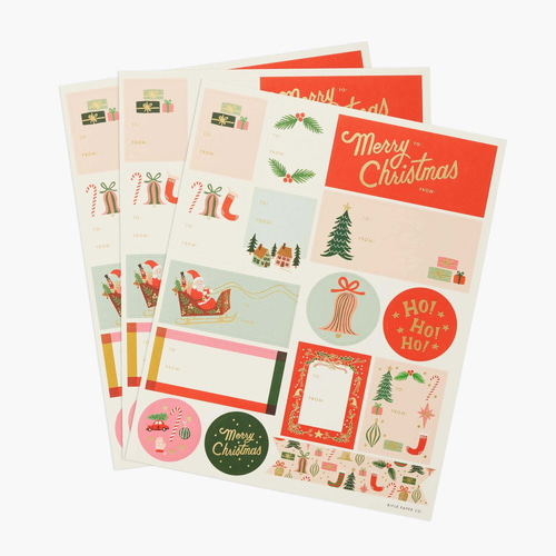 [Rifle Paper Co.] Deck the Halls Stickers & Labels